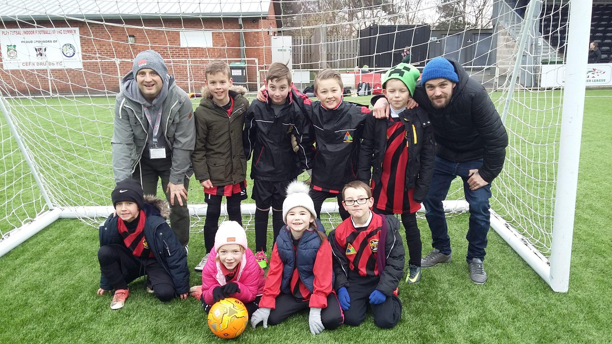 Year 4 Football Cefn Druids: